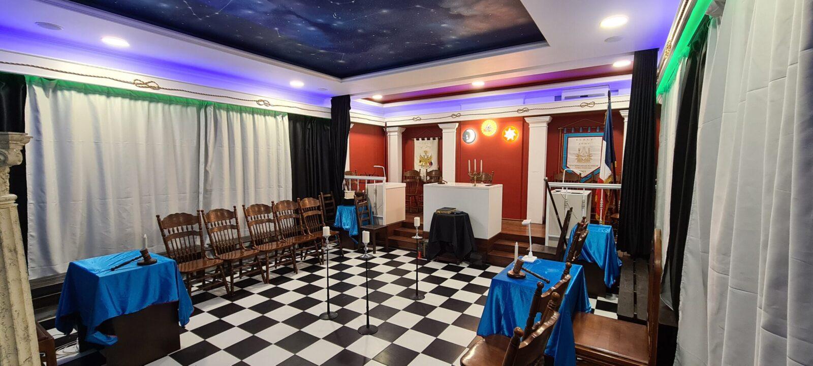 масонский храм ОВЛР