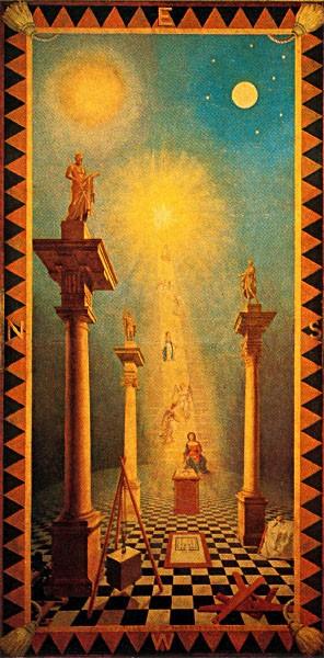 Первый градус. Ритуал Эмулейшн. A. Льюис