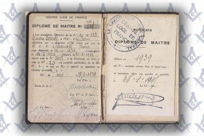 масонский паспорт Бориса Вадимовича Жданова