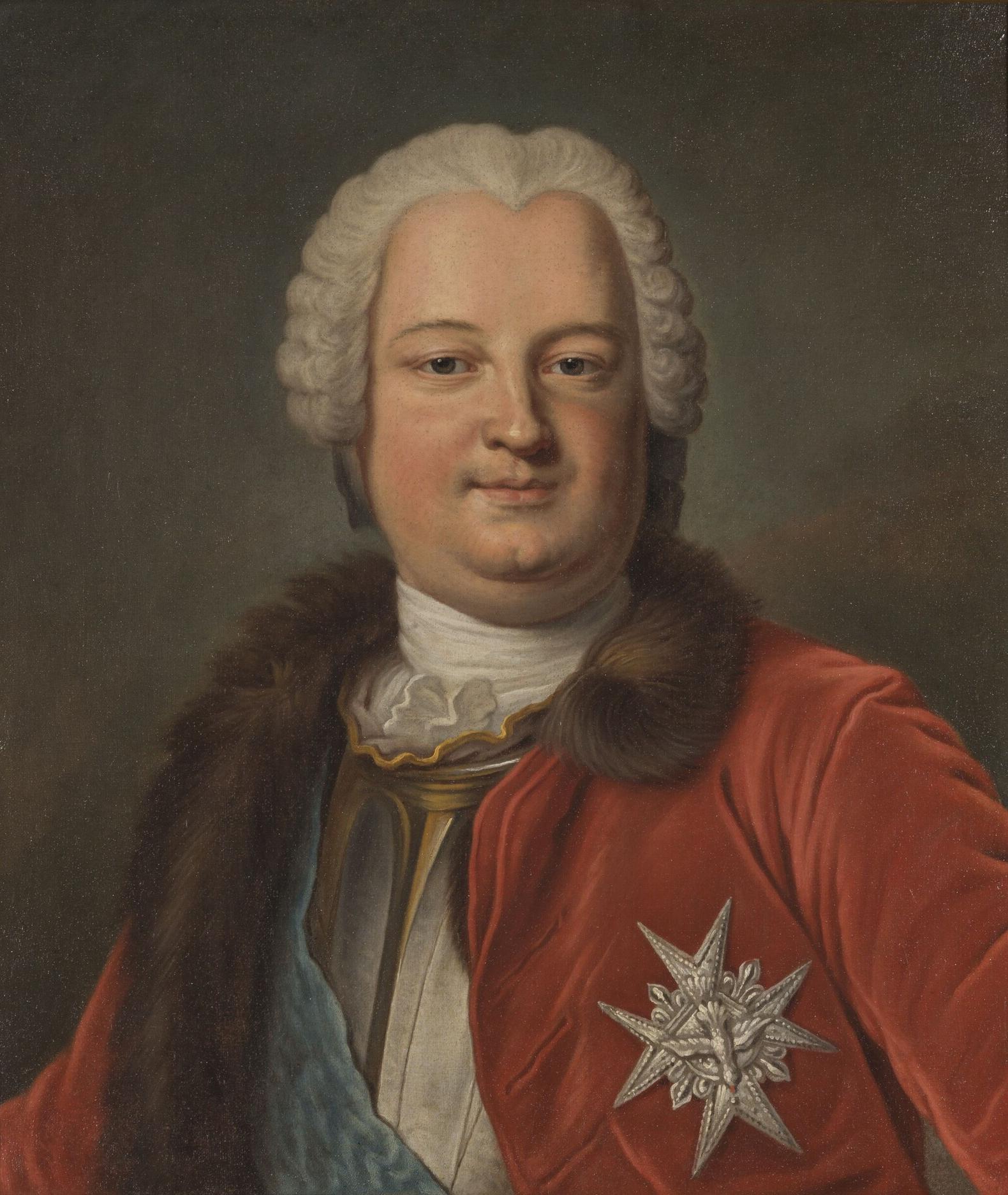 Граф Клермон, Великий мастер Великой ложи Франции с 1743 до 1771 года