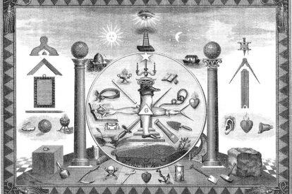 масонские символы собранные вместе